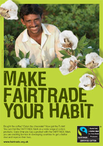 Make Fairtrade Your Habit - Download the fullsize poster
