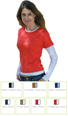 Ladies Long Sleeve T-Shirt SK014