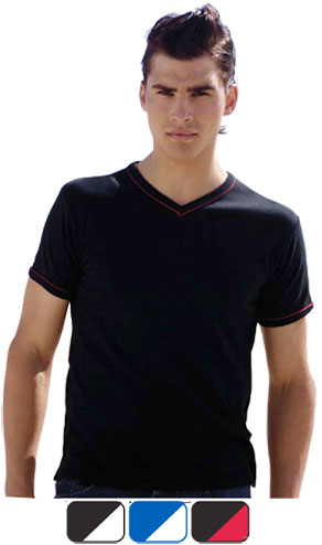 Mens V-neck T-shirt M4C