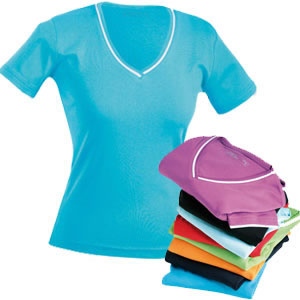 Ladies V-Neck T-Shirt JN161